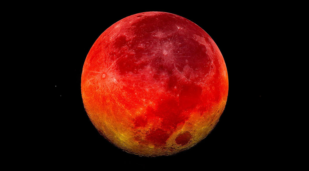 blood moon eclipse in leo - photo #27